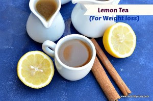 Lemon Tea (Weight Loss Drink)