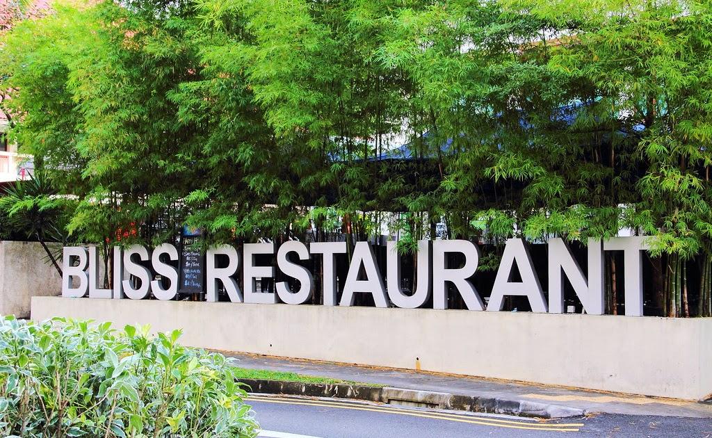 Bliss Restaurant Menu