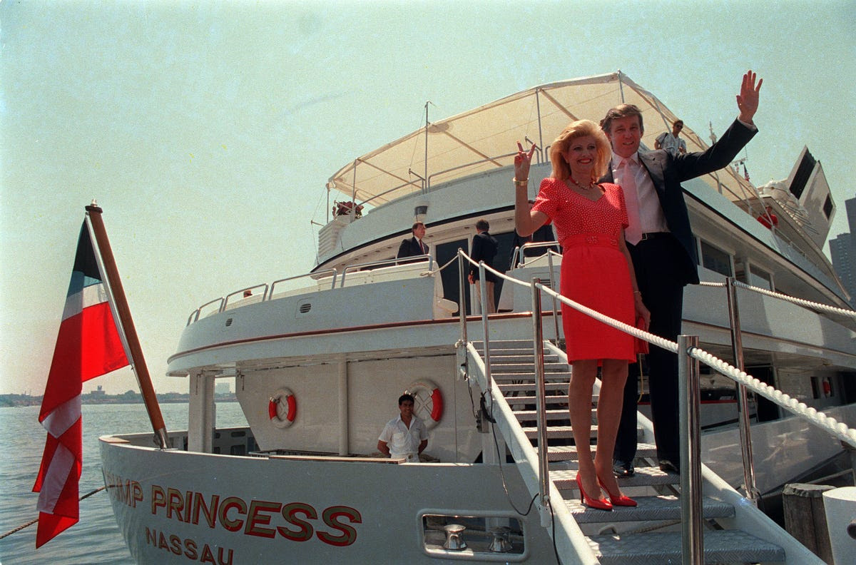 No expense was spared for his belongings, as Donald Trump once paid the sultan of Brunei $30 million for a nearly 300-foot yacht.