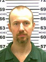 David Sweat, shown in a May 21, 2015, escaped from