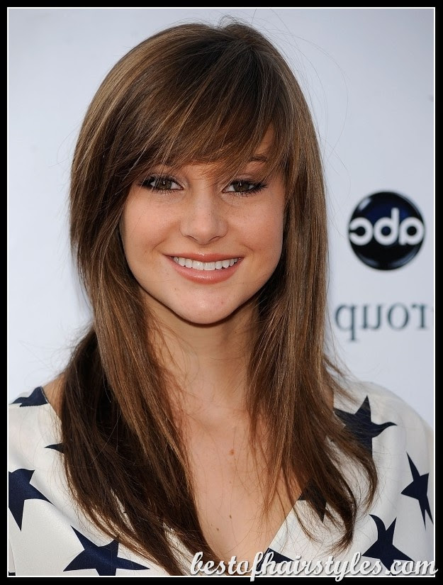 12 Fantastic Long  Hairstyles  With Bangs  Pretty Designs