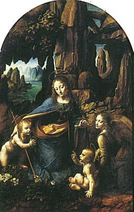 Virgin Of The Rocks -- National Gallery, London