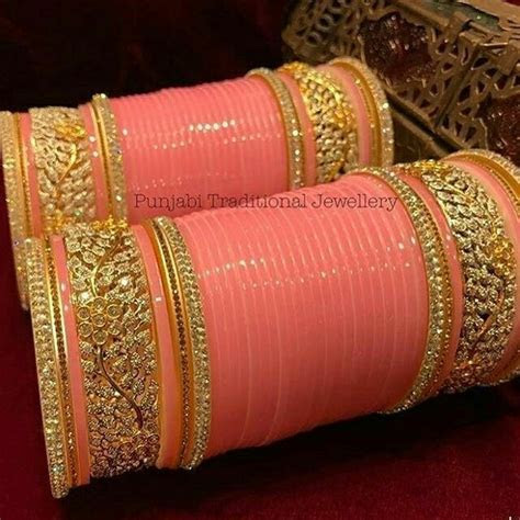 Bridal chura bangles