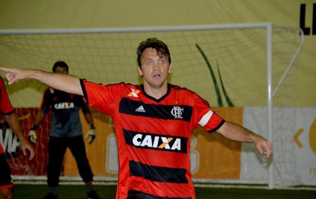Petkovic em ação pelo Flamengo Fut 7 diante da Portuguesa (Foto:  Davi Pereira/Champions Comunicação)