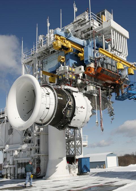캐나다 매니토바주 위니펙에 위치한 GE 항공 엔진 테스트 시설