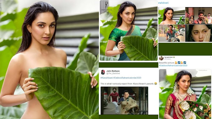 Kiara Advani's topless picture for a calendar shoot turns into a meme fest for netizens | Hindi Movie News - Bollywood - Times of India