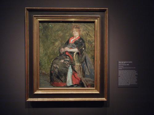 DSCN5652 _ Mme Lili Grenier, 1888, Henri de Toulouse-Lautrec, NY MOMA at De Young