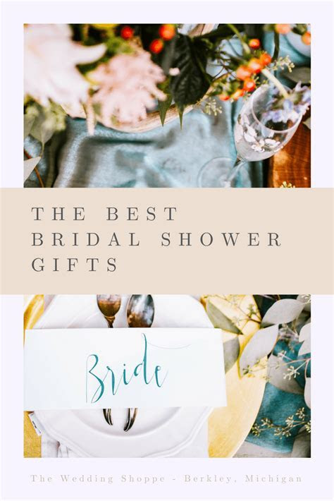 The Best Bridal Shower Gifts   The Wedding Shoppe