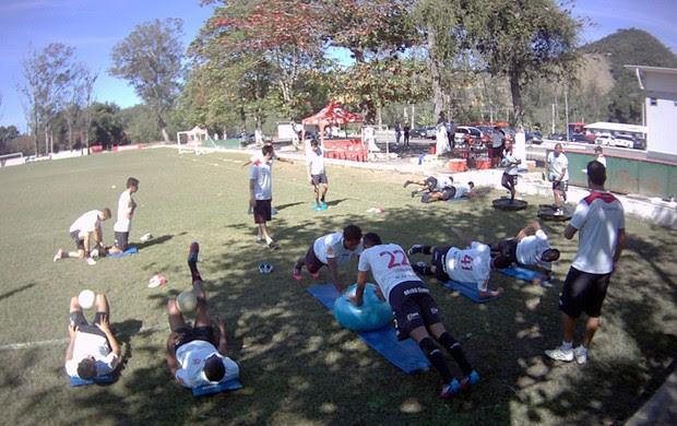 Treino do Flamengo (Foto: Alezandre Vidal / Fla imagem)