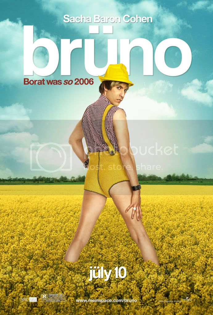 movie poster for Bruno [click to enlarge