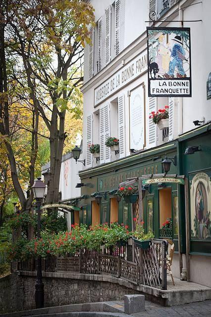 Montmartre ~ La Bonne Franquette loja Via Bojana Cvetanovska