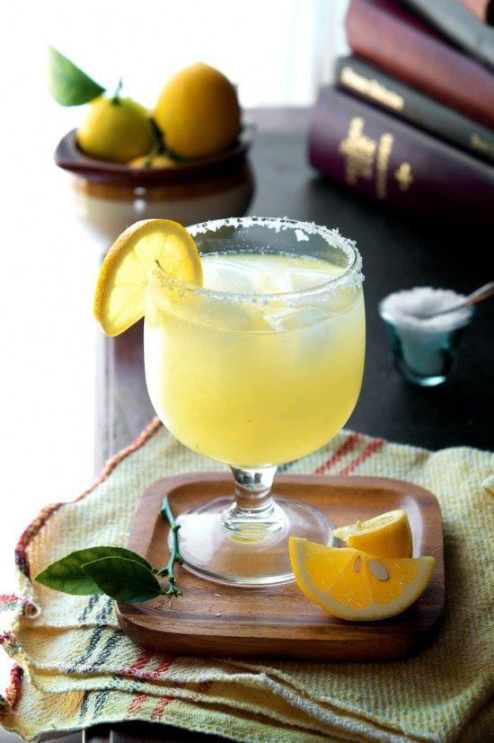 We grow these everywhere! Meyer Lemon Margarita Recipe