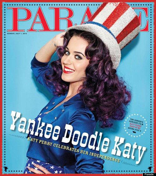 Parade - June 2012, Katy Perry