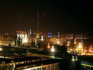 Thessaloniki's night view