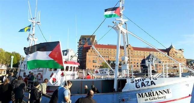 Israele blocca la Marianne a 100 miglia dal porto di Gaza