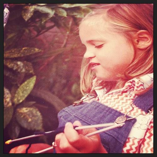 This is me as a little girl:) Questa sono io da piccola:)