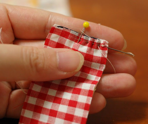 How to make a patchwork string 3