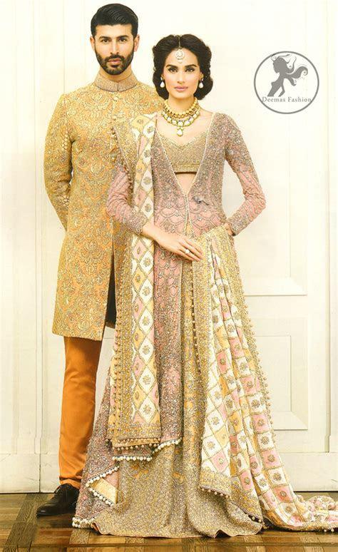 Multiple Color Designer Wear Bridal Jacket   Lehenga