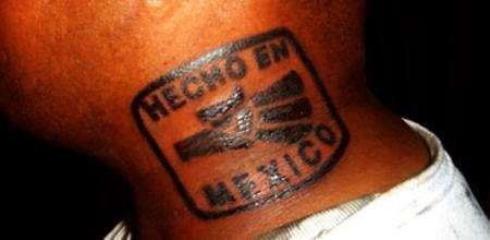 Hecho En Mexico Tattoo