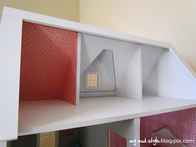Dollhouse Unfinished 3rd Floor