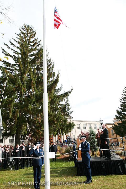 Honoring Veterans Flag Raising-15