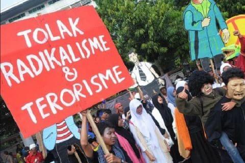 Hasil gambar untuk stop radikalisme dan terorisme di indonesia
