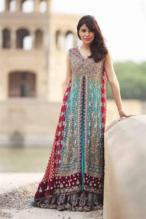 Beautiful Long Fancy Maxi Dresses Pakistani 2017 18