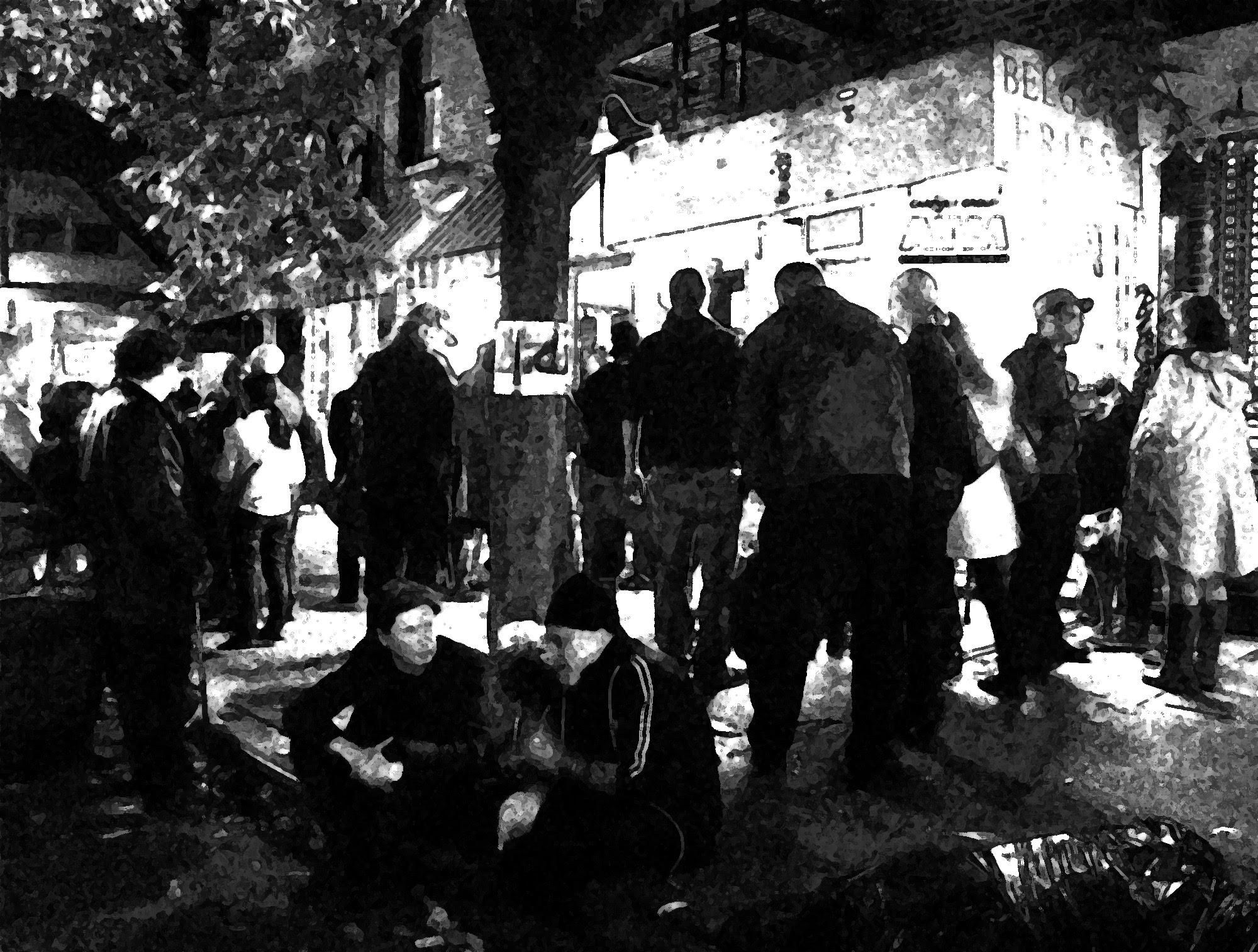 Vigil for Bob Arihood