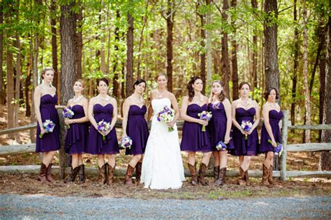 nc country chic wedding courtney dave rustic