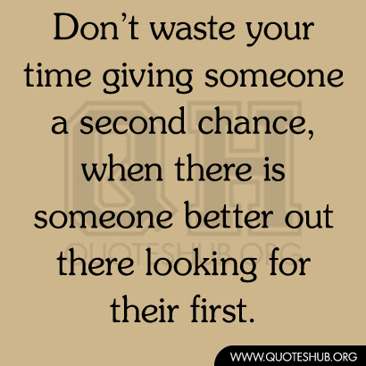 Quotes About Giving A Second Chance 30 Quotes