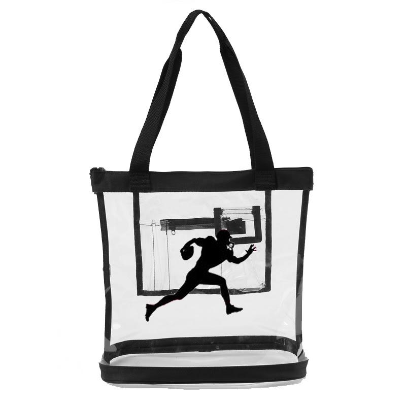 Wholesale NFL Clear Handbags  Unique Clear Totes