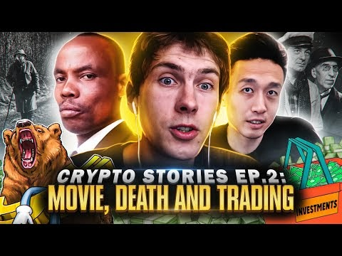 Making $100K in 10 minutes while trading on stage | Crypto Stories Ep. 2 | Blockchained.news Crypto News LIVE Media