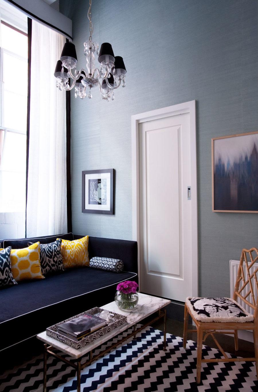 Wonderful Navy Blue White Living Room 50 Design Secrets Download