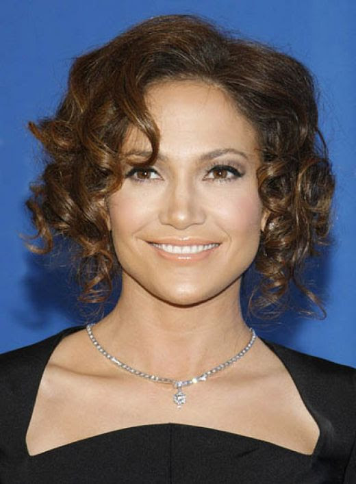 Haircuts For Teenage Girls With Long Hair. Short Curly Haircut for Teen