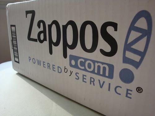 Zappos arrival