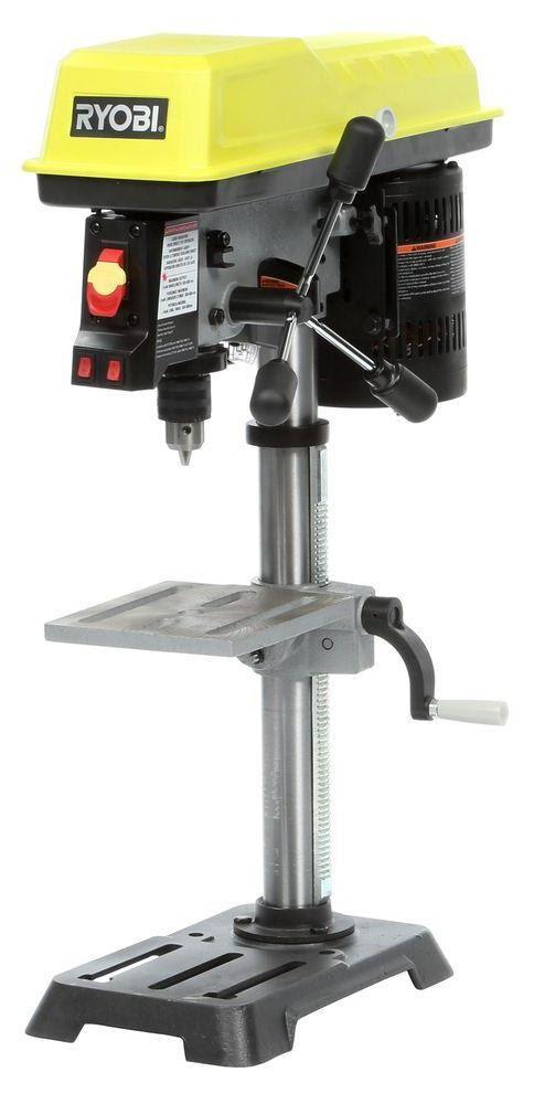 Ryobi Drill Press Tools In Action Power Tool Reviews