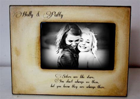 Picture Frame Gift, Best Friend, Mom Dad Sister Brother