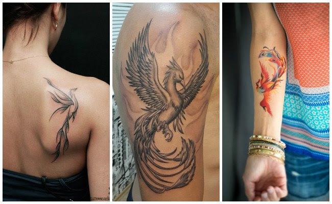 Tatuaje Fenix Mujer Ecosia