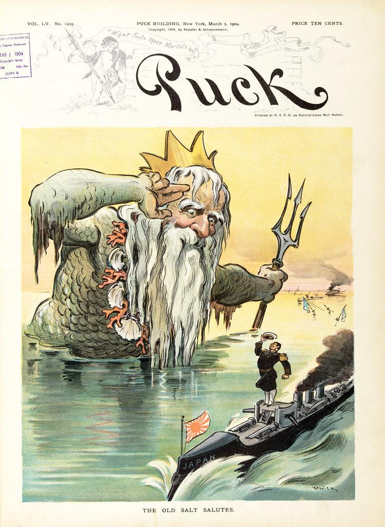 Udo J. Keppler - Illustration in Puck, v. 55, no. 1409 (1904 March 2), cover
