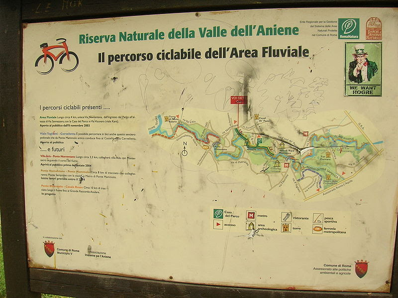 Fil:. Path of the Valley naturreservat Dell'Aniene JPG