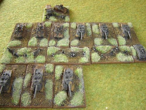West German - 'B' Panzer Battalion