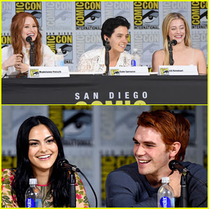 'Riverdale' Cast Previews Season 2 at Comic-Con - Watch Now!