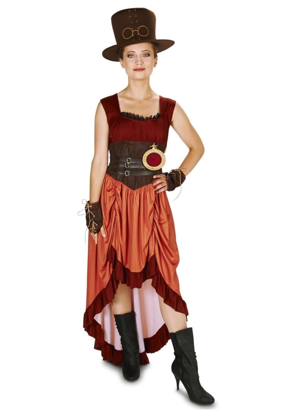 steampunk women costume  steampunk costumes