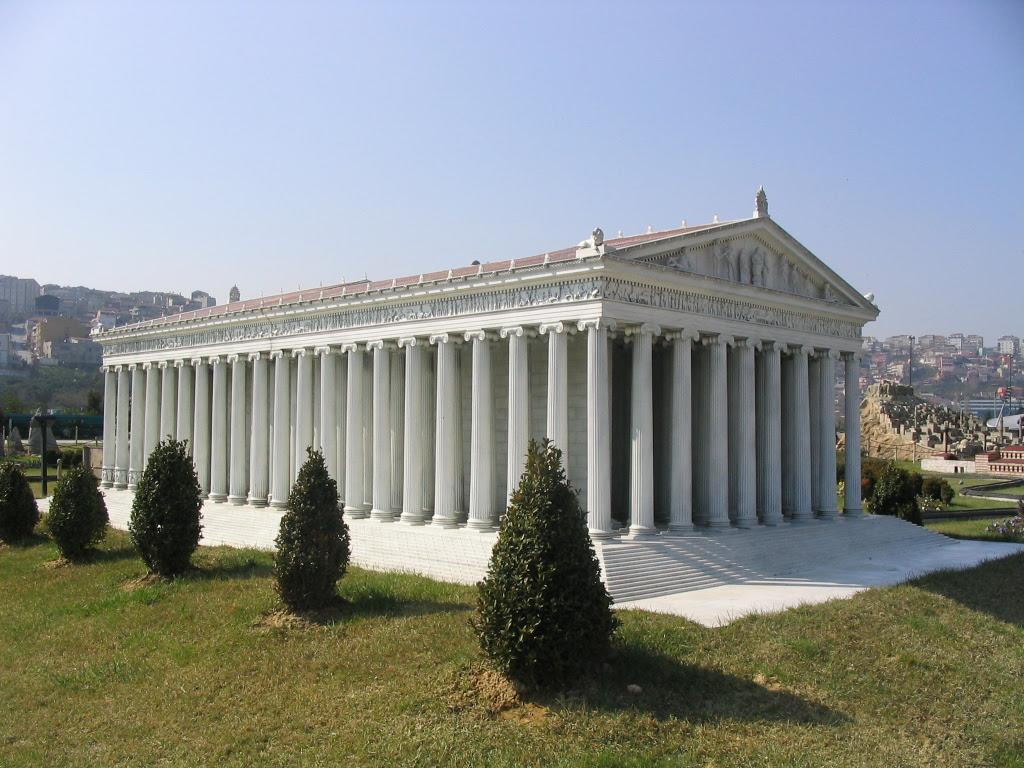 Реконструкция храма Артемиды