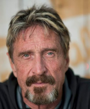 Image result for John Mcafee