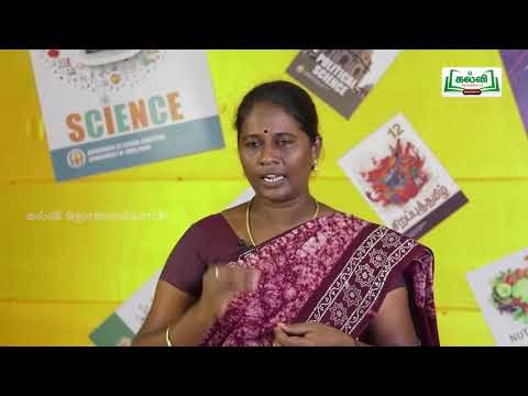 12th தமிழ் இலக்கியத்தில் மேலாண்மை Part 2 Kalvi TV
