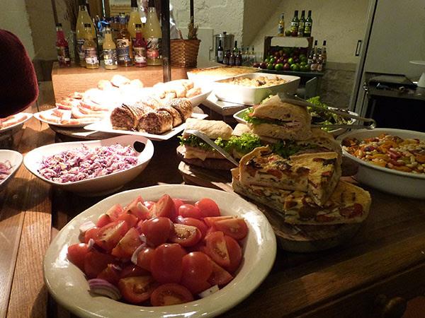 buffet saint paul's café