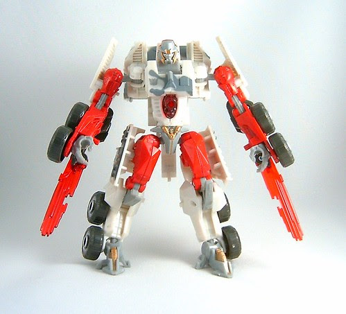 Transformers Wreckage - modo robot (Movie Deluxe) (by mdverde)