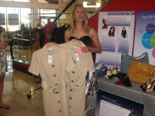Alison Deyette shows off Michael Kors at T.J. Maxx
