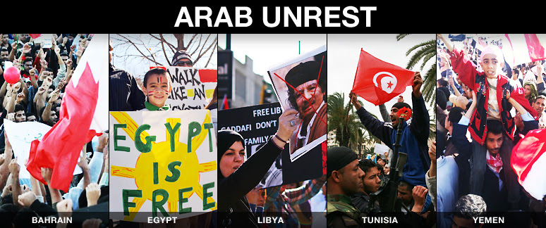 5 Eyewitnesses to the Arab Unrest